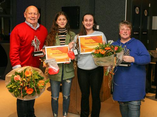 Marja Liefers en Hans Valent vrijwilligers van het jaar bij Blok EVC