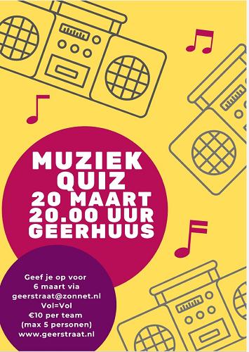 Muziek quiz Geerhuus Vaassen