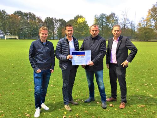 Rabobank Rabofonds doneert aan stichting VV Emst vastgoed