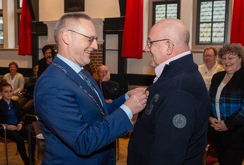 John Hollander uit Epe benoemd tot Lid in de Orde van Oranje Nassau