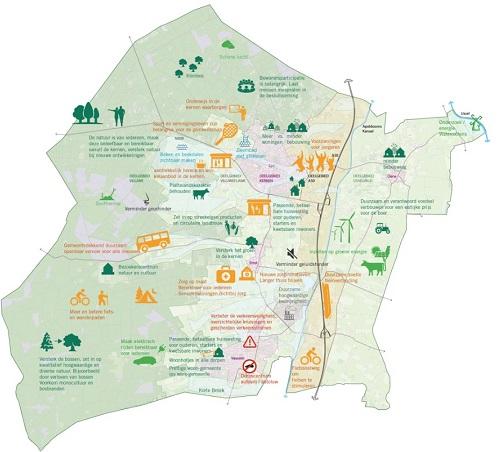 Gezondheid, natuur en wonen belangrijke thema's in Gemeente Epe