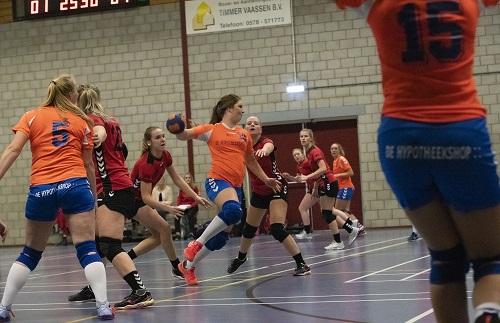 Handbal dames CVO uit tegen HHZD