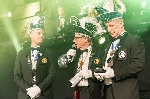 Marcel Broekhuis uitgeroepen tot Ereridder der Rossumdaerpers