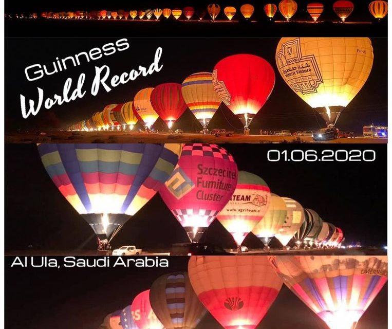 Wereldrecord voor Ruif Ballooning