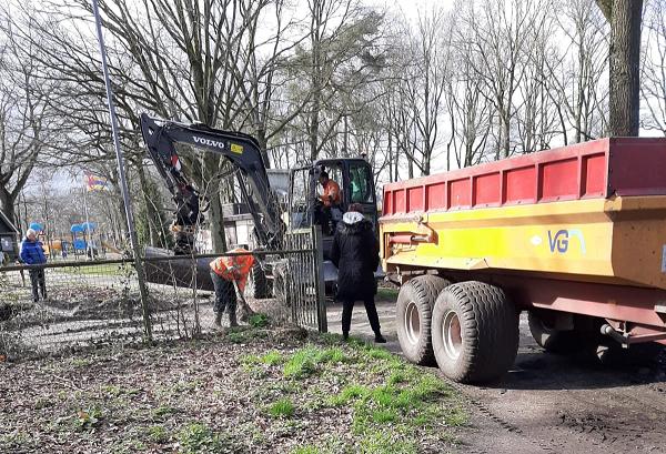 NL Doet uitgesteld bij Speeltuin de Kouwenaar