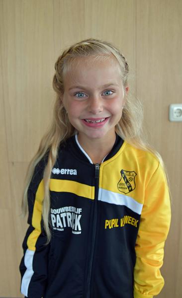 Pupil van de week bij Vios a.s. zaterdag is Jasmijn Velthoen!