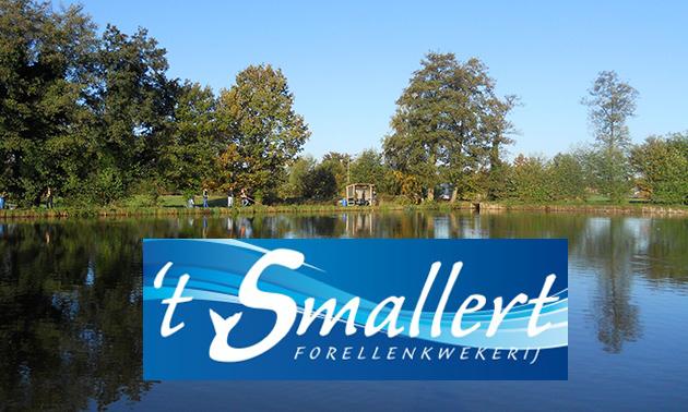 Smallert geopend voor vissen, bestellingen en winkelverkoop