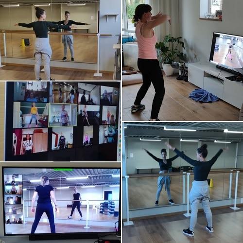 Danslessen online bij MDC
