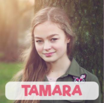 Tamara Breman als covergirl