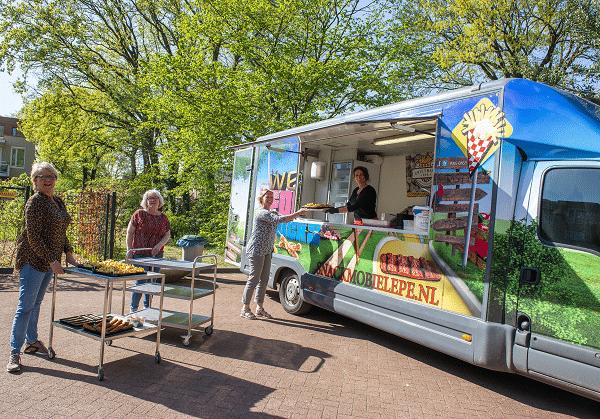 Gratis patat en snacks voor De Klaarbeek en De Nieuwe Antoniehof in Epe