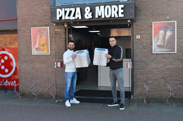 Pizza & More uit Vaassen deelt uit in samenwerking met Koppel-Swoe
