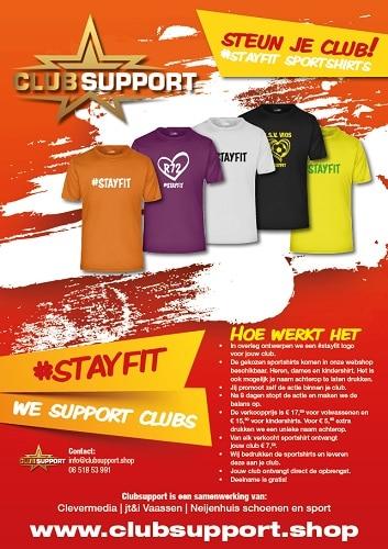 Koop een shirt & steun je club