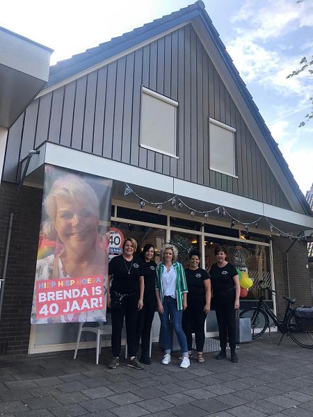 Brenda Mekelenkamp 40 jaar, feest bij Kappershues