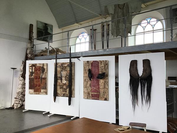 'Amazonen, een installatie van Yvonne Struys'