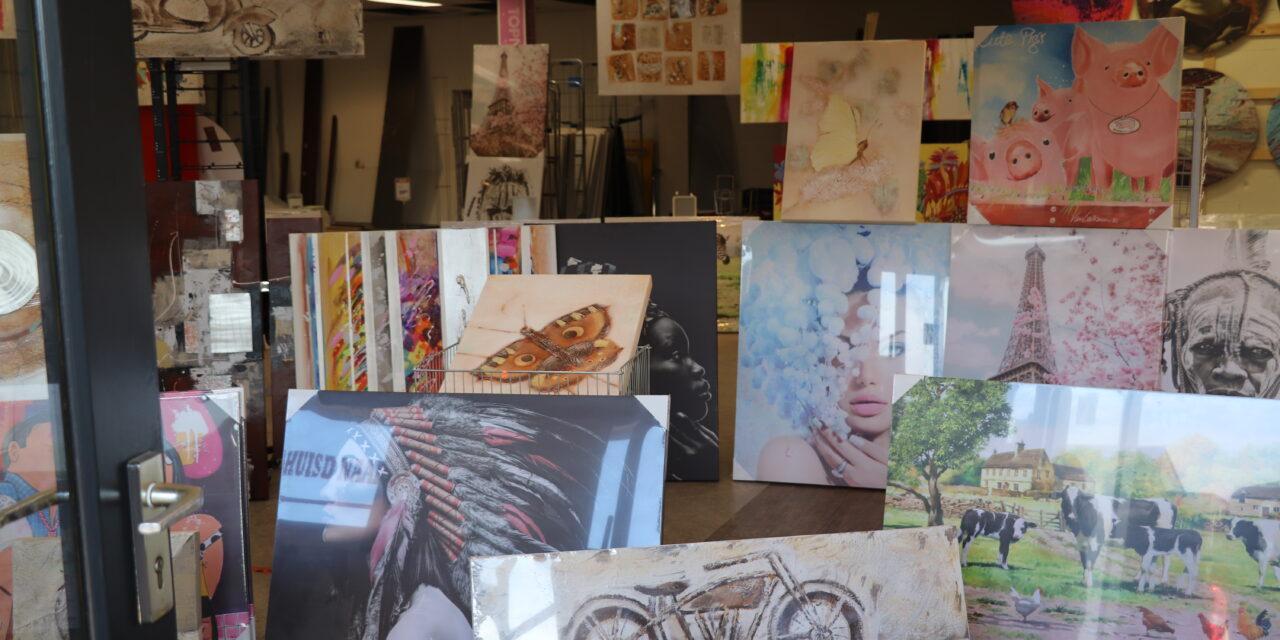 Kunst-outlet Vaassen opent pop-up store