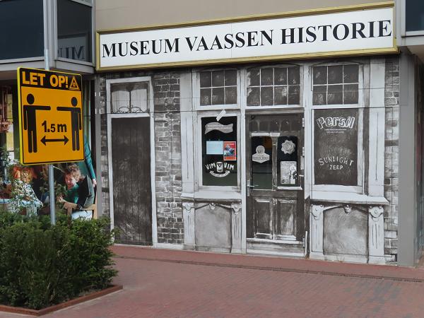 Het Museum Vaassen Historie vanaf 4 juli iedere zaterdag open.