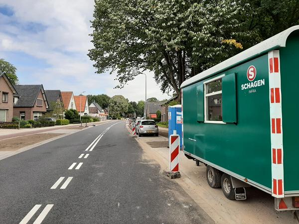 Werkzaamheden Dorpsstraat – Apeldoornseweg Vaassen klaar!