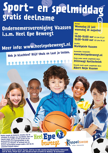 Sport- en spelmiddag, i.s.m. ondernemersvereniging Vaassen