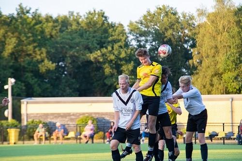 Oefenwedstrijd VIOS Vaassen 2 tegen KCVO 2