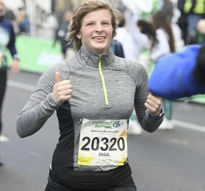 Inge maakt 411 kilometers voor kansen
