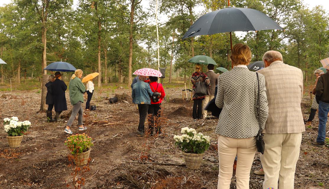 Opening Natuurbegraafplaats Elspeterbos