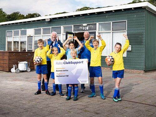 Rabobank Noord Veluwe zet zich in voor het behoud van clubs en verenigingen