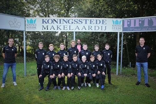 Koningsstede Makelaardij sponsort KCVO JO13-1