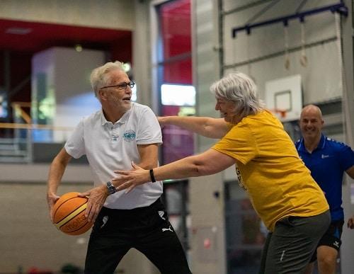 Oldstars Walking basketbal in gemeente Epe