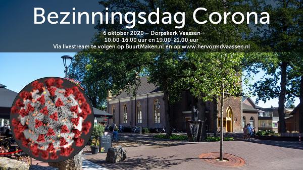Bezinningsdag corona in Dorpskerk van Vaassen
