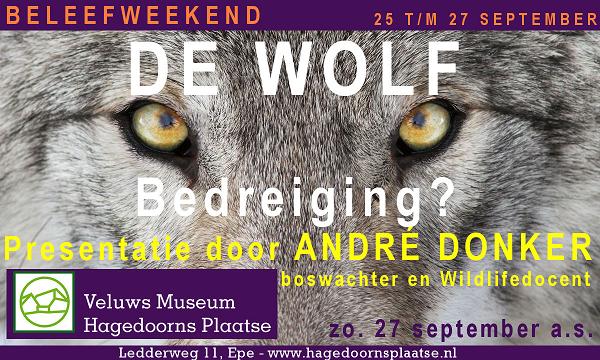 Veluws Museum Hagedoorns Plaatse viert september 2020: Van Open MONUMENTENdag t/m de WOLF.