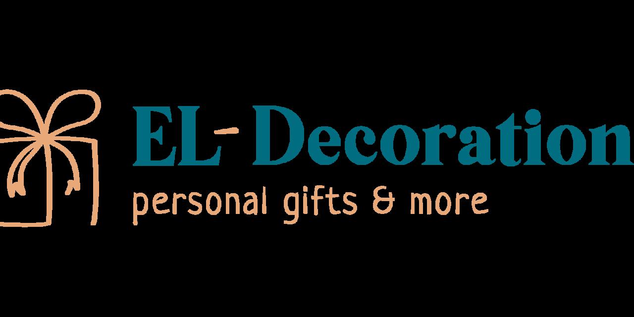 El-Decoration in jarig!
