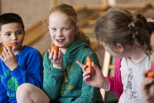 Kinderen en jongeren in de gemeente Epe aan de groente