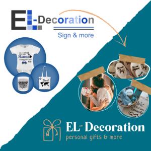 Nieuw logo - El-Decoration