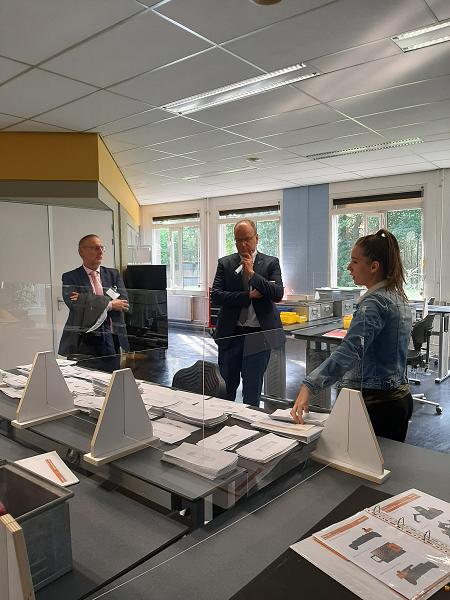 Burgemeesters Apeldoorn en Epe bezoeken Lucrato