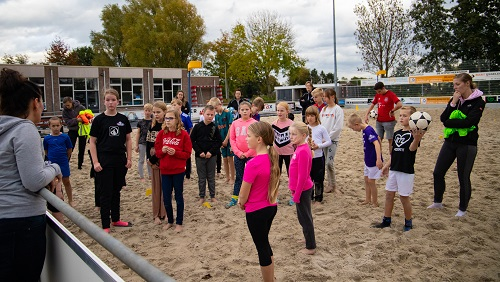 Beachkorfbal Party! Deel 2