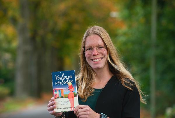 Isabel Bijsterbosch (25) uit Epe komt met derde roman