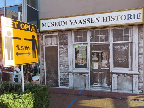 Museum Vaassen Historie tijdelijk weer gesloten