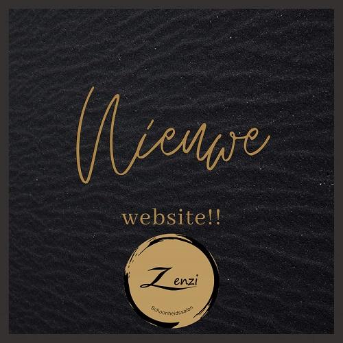 Nieuwe website van Schoonheidssalon Zenzi Vaassen