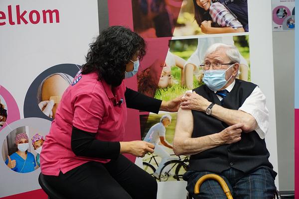 GGD Noord- en Oost-Gelderland is dinsdag 26 januari begonnen met het vaccineren