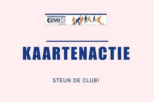 Kaartenactie handbalvereniging CVO Vaassen