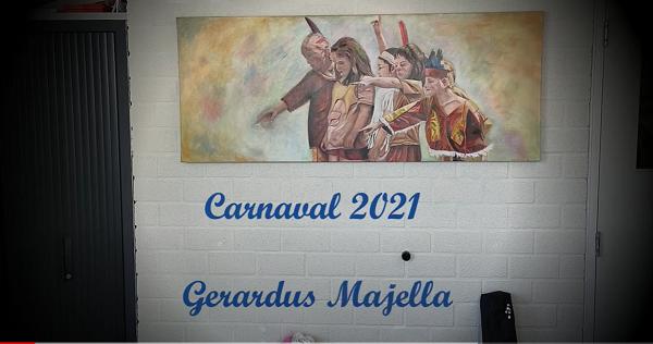 Carnaval op de Gerardus Majella