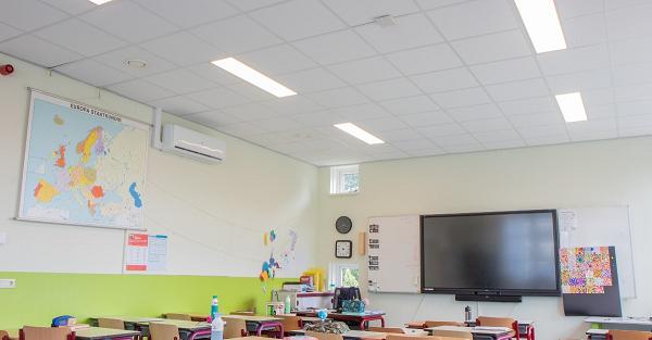 Basisschool De Violier profiteert van energiezuinige LED verlichting