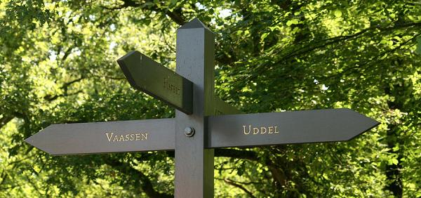 Gratis wandelroutes bij Gasthuis Pension Via Quidam Vaassen