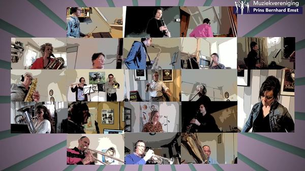 Nieuwe video-opname muzikanten Prins Bernhard Emst online te zien!