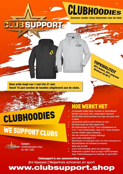Nieuwe actie Clubsupport