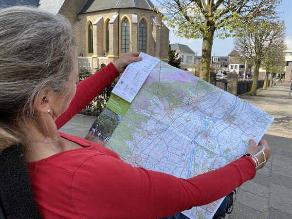 Vernieuwde fietskaart Veluwe & IJssel