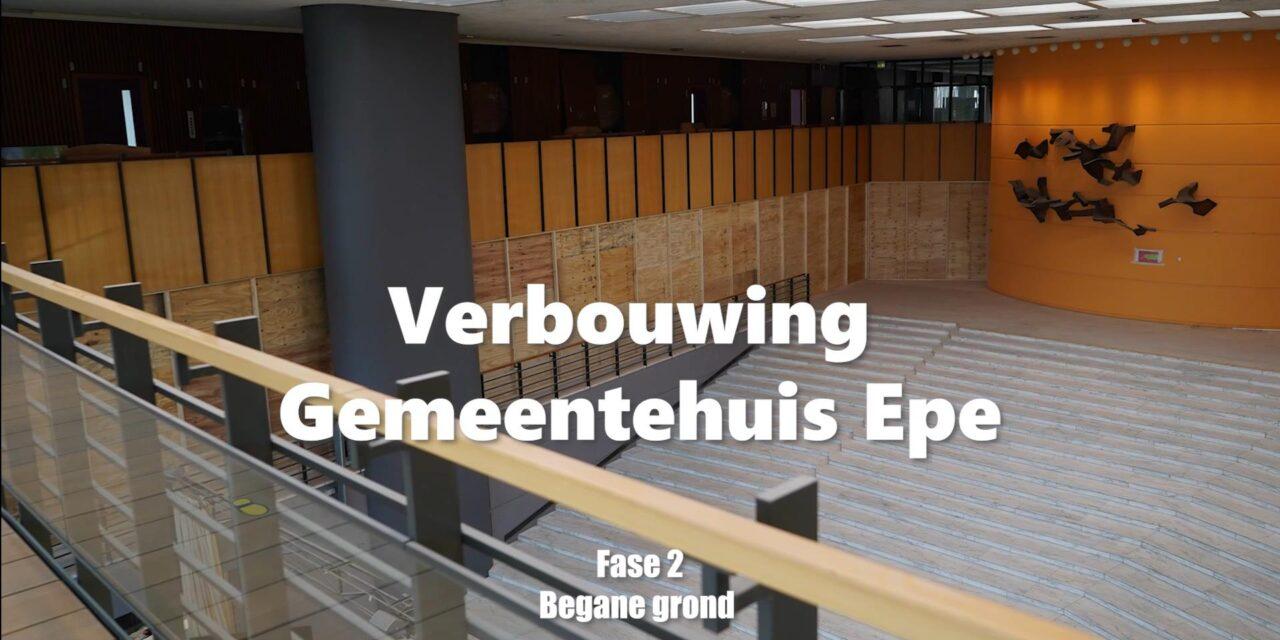 Verbouwing gemeentehuis Epe deel 3