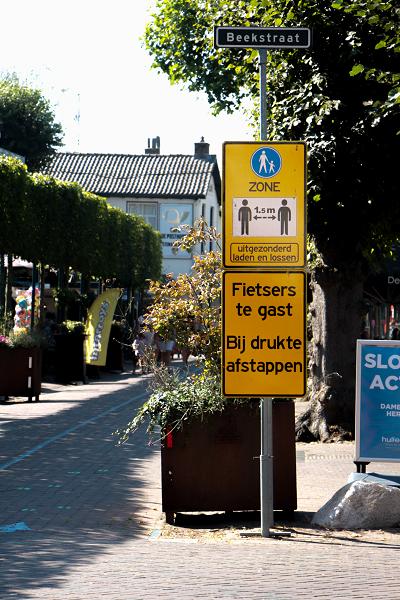 Centra Epe en Vaassen: tijdelijk voetgangersgebied
