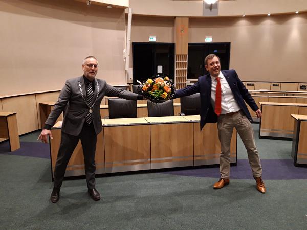 Michiel Wiersinga benoemd tot wethouder namens Nieuwe Lijn