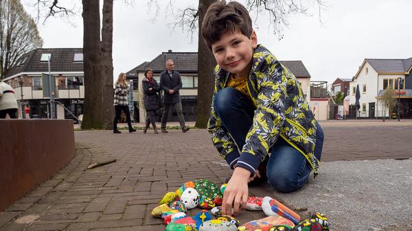Kinderen verspreiden blijheid in Vaassen